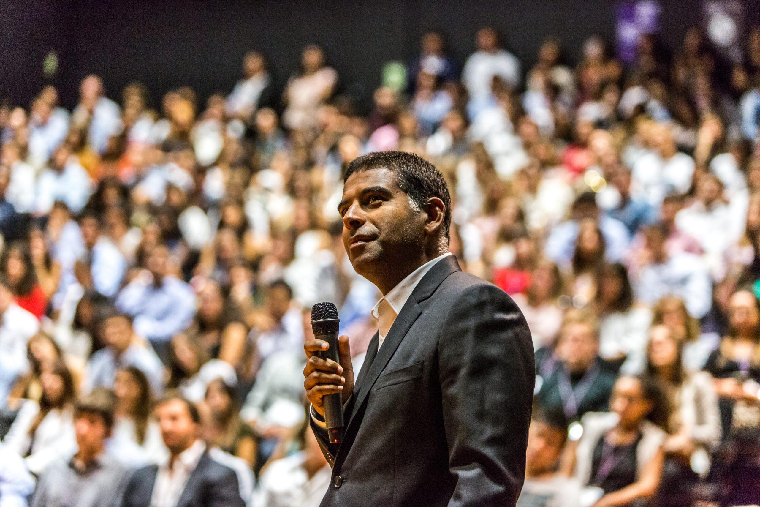 Daniel Traca of Nova Business School inspiring the minds of tomorrow