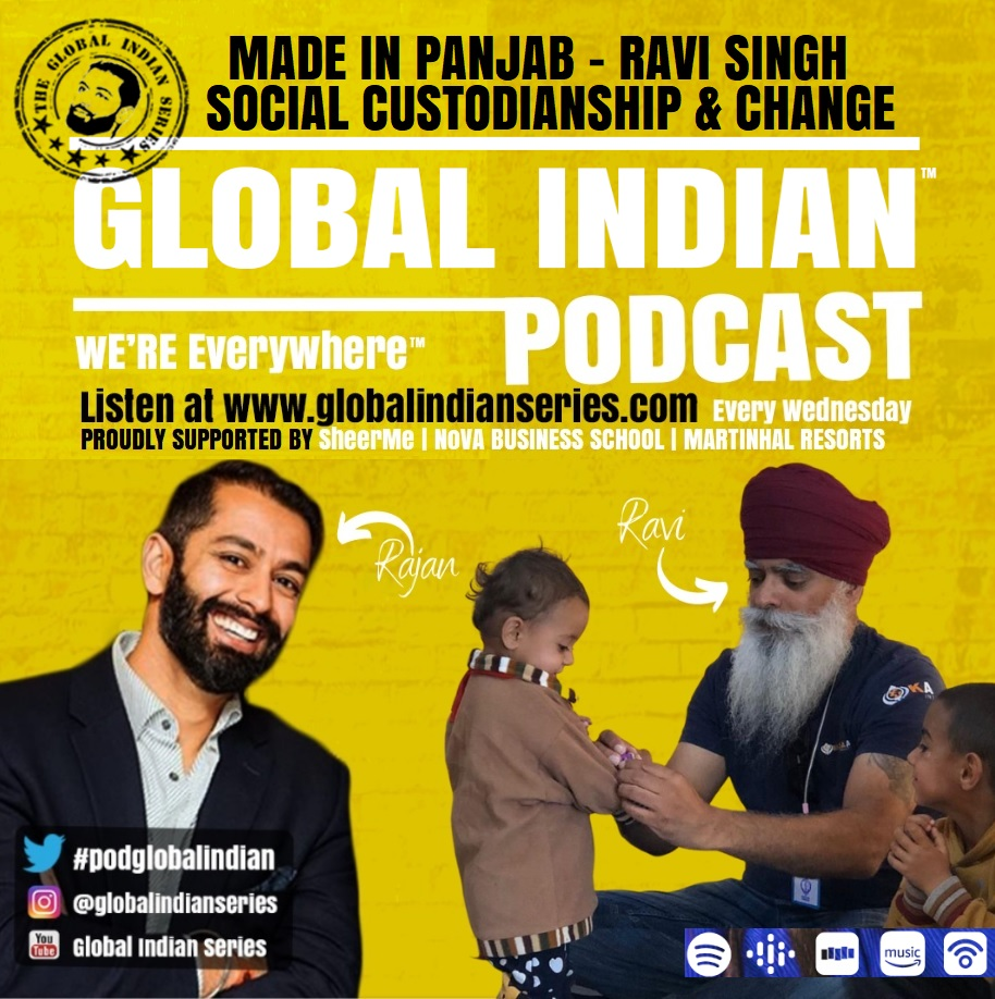 Podcast with Khalsa Aid CEO