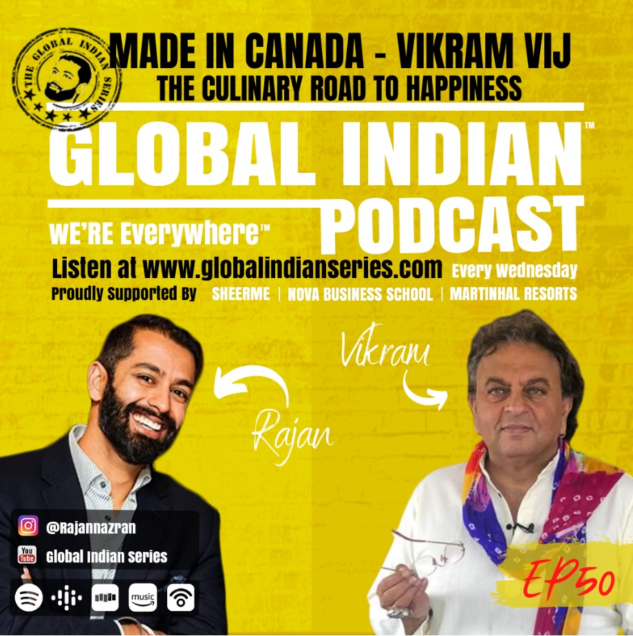Official podcast with Vikram Vij and Rajan Nazran