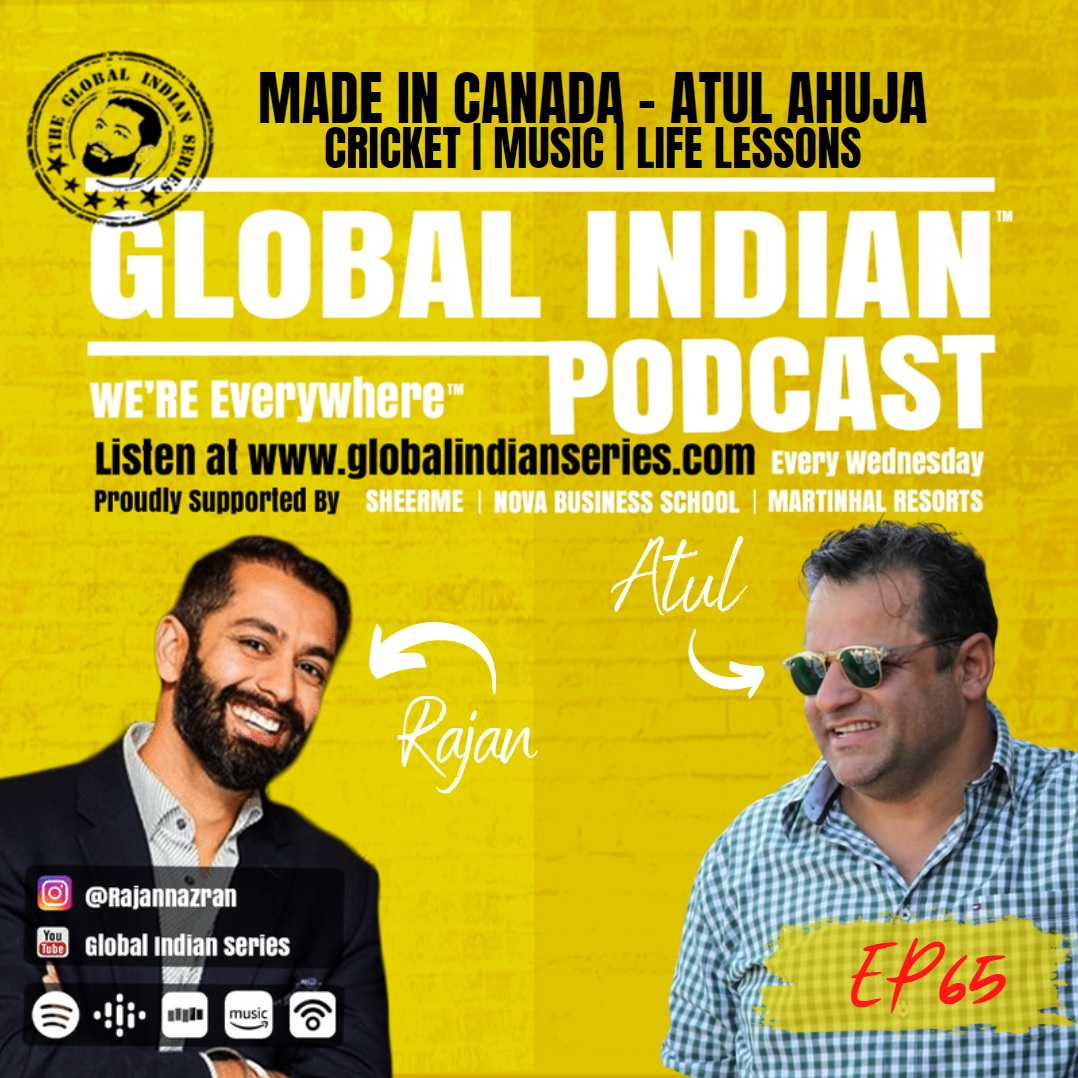 Atul Ahuja joins Rajan Nazran to discuss his life in sports to entertainment