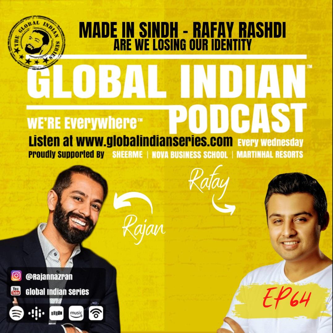 Rafay Rashdi meets Rajan Nazran from the Global Indians