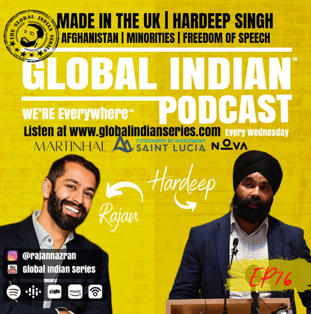 Hardeep Singh sits down with Rajan Nazran to discuss the fate of Afghanistan and the impact on the minorities   global indian