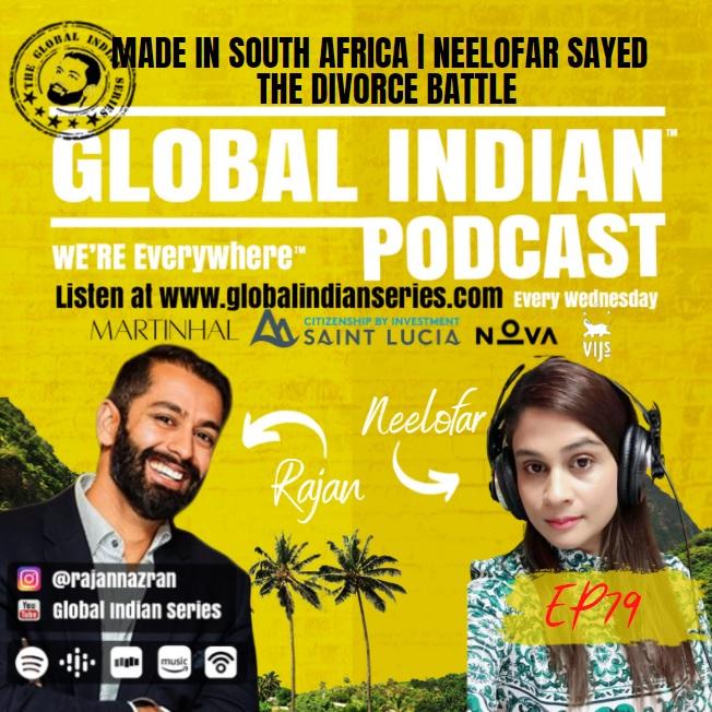 Neelofar Sayed sits down with Rajan Nazran on the Global Indian